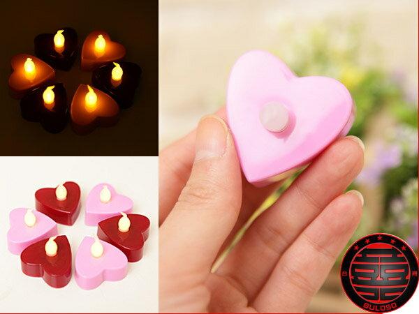 不囉唆:120元~A223232~^(一套3入^) 2色愛心LED燈省電浪漫LED愛心燈