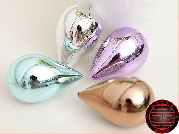 《不囉唆》【A225038】(不挑色) 4色水滴電鍍牙刷架 創意生活 牙刷掛/牙刷架/牙刷座