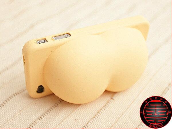《不囉唆》第2代逼真版iphone 4小屁屁 手機外殼 屁股 矽膠 外殼 保護殼【Y227063】
