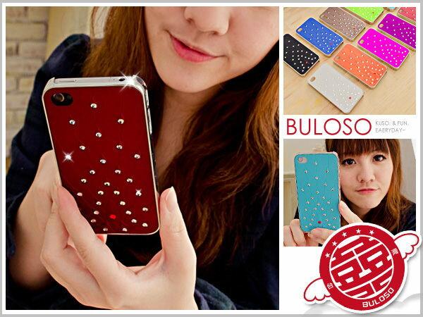 《不囉唆》【Y238946】(不挑色) 造型 10色貼鑽鳳凰IPHONE 4 保護套/保護殼/背蓋/背套 4s   三折
