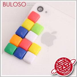 《不囉唆》【A253079】 一套2入 多色隨意粘貼彩扣 創意裝飾/吊飾彩扣 手機飾品