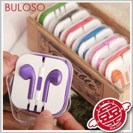 《不囉唆》【A266376】(不挑色) 7色簡約麥克風線控耳塞式耳機 聽音樂/接聽電話 3.5mm適用