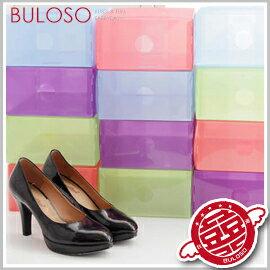 《不囉唆》彩色抽屜鞋盒/抽屜式 鞋盒 透明 收納盒 文具盒(不挑色/款)【A268080】