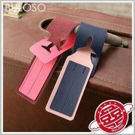 《不囉唆》【A271950】(不挑款)標籤行李牌/絨面皮質雙色搭配飛機圖案吊牌創意托運牌掛牌