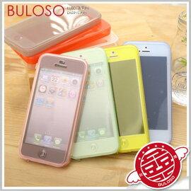 《不囉唆》7色IP5透明翻蓋背蓋 iphone/翻蓋/保護/側翻/保護套/背蓋(不挑色/款)【A279284】