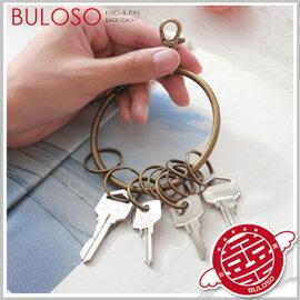 《不囉唆》【A283113】(不挑款) 復古銅環鑰匙圈 懷舊古銅鑰匙環 .鑰匙環 古董鑰匙扣