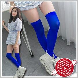《不囉唆》120丹尼膝上襪 馬卡龍彩色高筒襪 長統襪 修飾顯瘦修長(可挑色/款)【A286596】