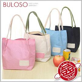 《不囉唆》布藝手拎小清新購物袋 便當袋/單肩/手提袋/環保/購物(可挑色/款)【A400170】