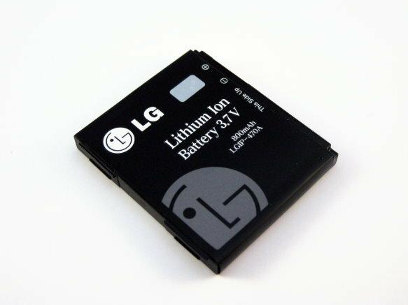 LG KF-350/KF350原廠電池LGIP-470R~3.7V 800mAh