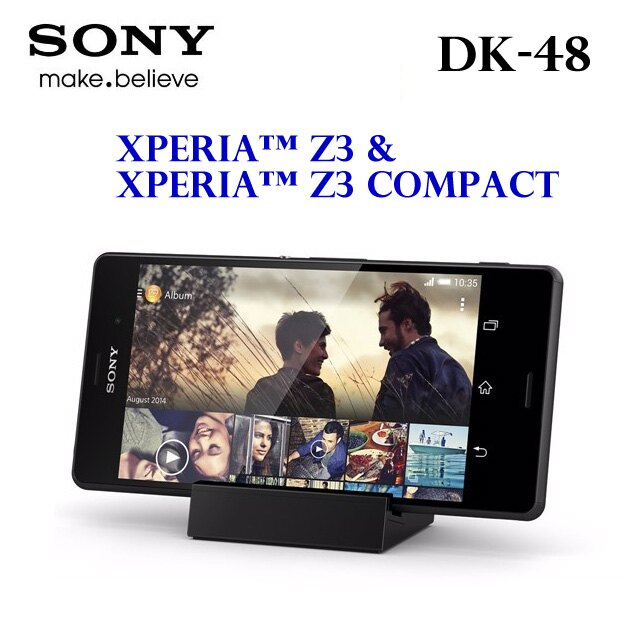 【PC-BOX】原廠SONY Xperia Z3 / Xperia Z3 Compact  DK48 / DK-48 原廠磁性充電底座/座充