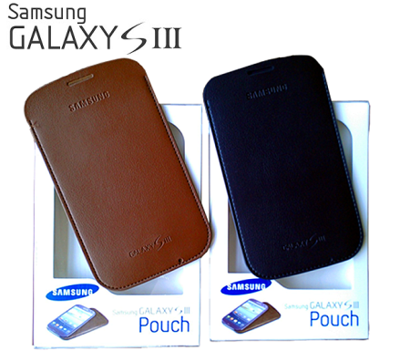 ~ ~Samsung Galaxy S3  i9300 Leather Pouch 皮革直