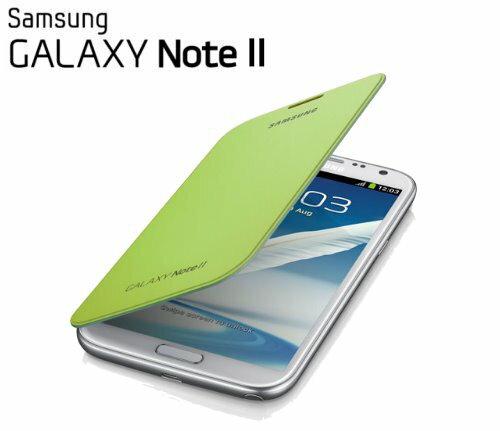 【原廠精品】Samsung Flip Cover /Galaxy NOTE 2/N7100 (淺綠色) 原廠側掀式保護套~含背蓋