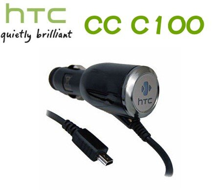 HTC CC C100 原廠車充線~(裸裝)適用:Dual P5500/Touch HD T8282/HERO A6262/Magic A6161/P3300