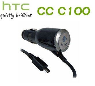 HTC CC C100 原廠車充線~(裸裝)適用:P3470/PRO T7272/PRO2 T7373/SMART F3188/Tattoo A3233/VIVA T2223