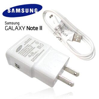 Samsung Galaxy NOTE2 原廠旅充頭+傳輸充電線~(5V~2A輸出) 適用:S4/ i9500/Grand Duos/i9082/Attivs i8750/Bean i8530 / S..