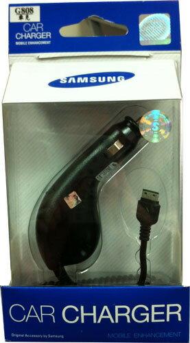Samsung L768 原廠車上充電器~先創吊卡裝~適用:G608/G808/G818/i458/i908~