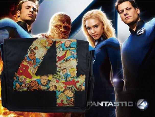【正版授權】原廠電腦包/肩背包Fantastic-Four驚奇四超人款-17.5吋以下筆電平板適用