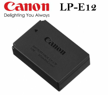 【PC-BOX】Canon LP-E12/LPE12 原廠電池/數位相機原廠電池 for:Canon M/M2/ EOSM /EOS-M/100D