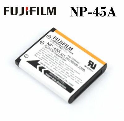 ~ ~FujiFilm NP~45A  NP~45  相機電池^~3.7V 720mAh