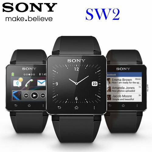 SONY SmartWatch2/SW2 原廠多功能藍牙遙控器/手錶~橡膠錶帶款 ☆IP57防水☆音樂搖控/來電顯示/手錶功能