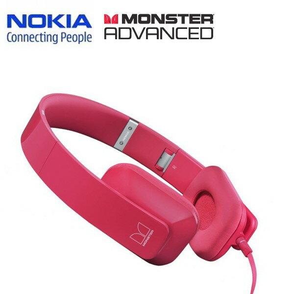 (絕版出清)Nokia Purity by Monster WH-930/WH930 原廠耳罩式耳機~(桃紅色)-指定店家全館下殺