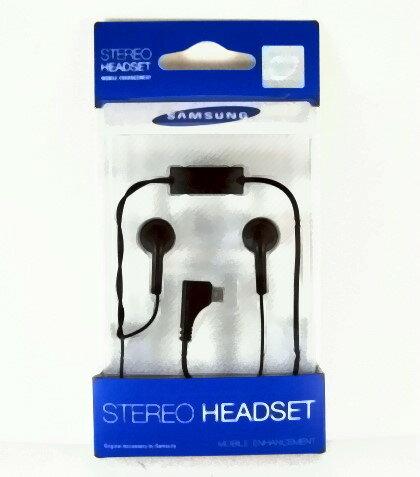Samsung 原廠耳機(吊卡裝)MicroUSB接頭~適用:Lindy M5650U/C5510/S5600/S7070/S7220/S7350~