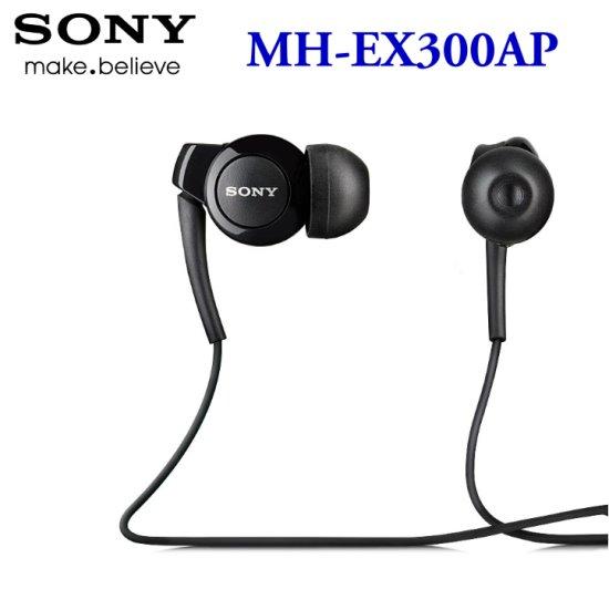 SONY MH-EX300AP 原廠Hi-Fi 耳機 (裸裝-黑色)~適用 Xperia 系列