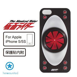 【heroesunited】Apple iPhone 5/5s假面騎士一號-腰帶系列硬殼保護殼 (黑魂款)