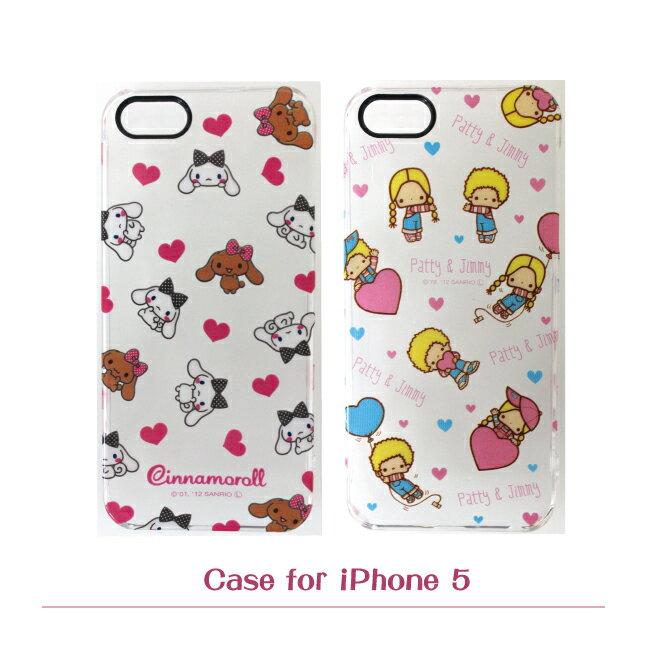 【GD~Kikilala】Apple iPhone 5/5s 派蒂吉米&大耳狗透明手機保護殼 (派蒂吉米、大耳狗)