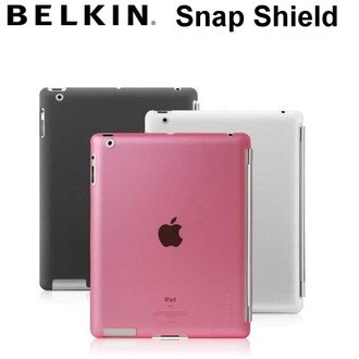 【最佳防護 】BELKIN Snap Shield Secure iPAD 2 /iPAD2 ☆智能保護背蓋~兼容Smart Cover