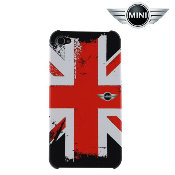 Mini Cooper iPhone 4/4S 大英國協橡膠硬式外殼/保護殼