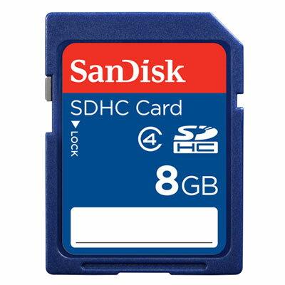 【現貨供應】SanDisk SDHC 8G/SD 8GB記憶卡~Class 4~增你強公司貨終身保固