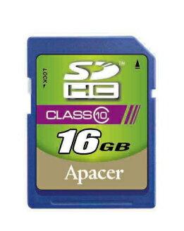 【超高速Class 10】APACER 宇瞻 SDHC 16G/SD 16G ~公司貨終身保固~Class 10