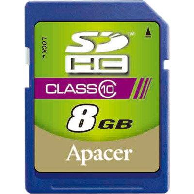 【超高速Class 10】APACER 宇瞻 SDHC 8G/SD 8G ~公司貨終身保固~Class 10