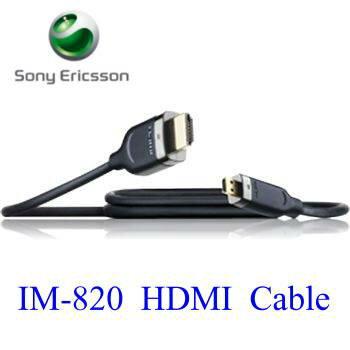 【神腦公司貨 】SonyEricsson IM820 / IM-820 原廠HDMI Cable~適用: Xperia S/LT26i/Xperia P/LT22i/Xperia U/ST25i/Xperia ion/LT28i