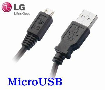 LG  MicroUSB 原廠數據傳輸線~適用:LG  BL-20/BL-40/E720/GD310/GD350/GD510/GD880mini/GD900