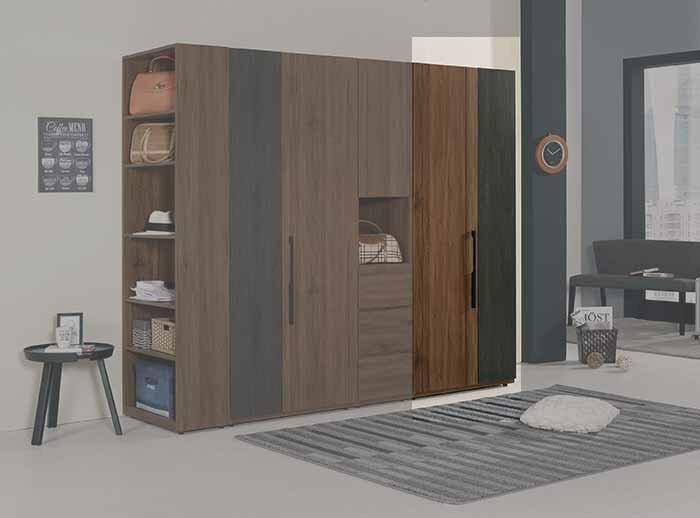 【尚品傢俱】CM-027-4 米迪亞2.8尺衣櫥(雙吊)