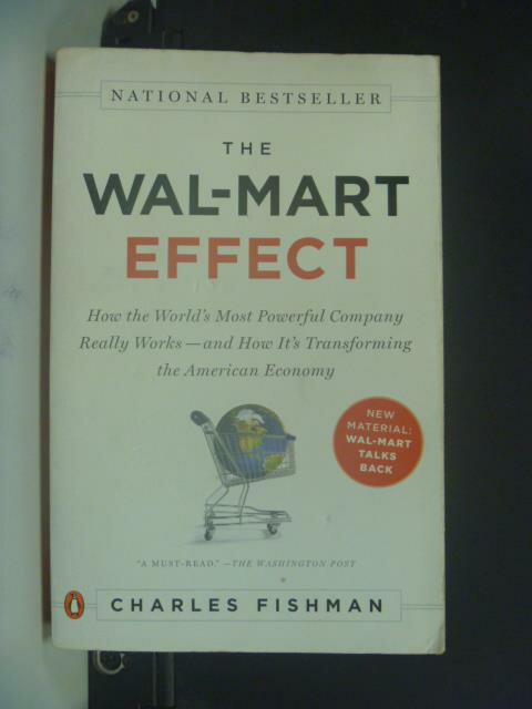 【書寶二手書T3/財經企管_OIT】The Wal-Mart Effec_Fishman, Charles
