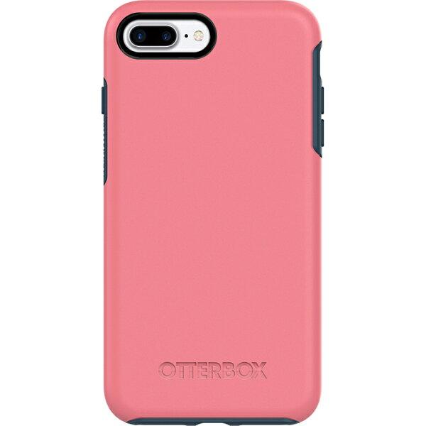 貝殼嚴選:【貝殼】OtterBoxSymmetrySeries炫彩幾何iPhone8PlusiPhone7Plus手機殼防摔殼-粉藍