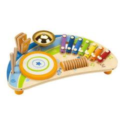 德國Hape愛傑卡 音樂系列-快樂音樂組合.兒童樂器.2歲以上.新品登場【紫貝殼】