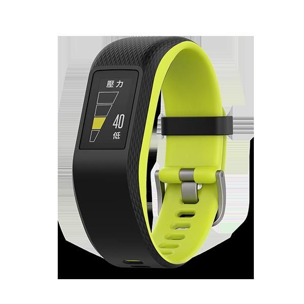 GARMIN vivosport™ vivosport GPS 的智慧健康心率手環 贈日本SASAKI運動毛巾【H.Y SPORT】 2