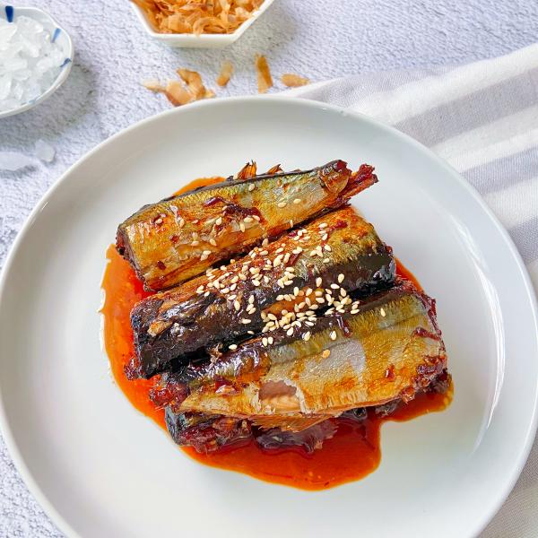 [冷食]和風秋刀魚(300公克/份)精燉肥美秋刀營養價值高-「限量」每日現做真空包【轉屋家】
