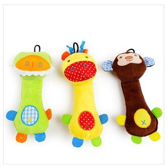 【小樂寵】拼布動物造型發聲玩具