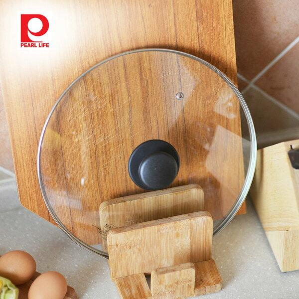 【日本珍珠金屬】耐熱玻璃鍋蓋-28cm