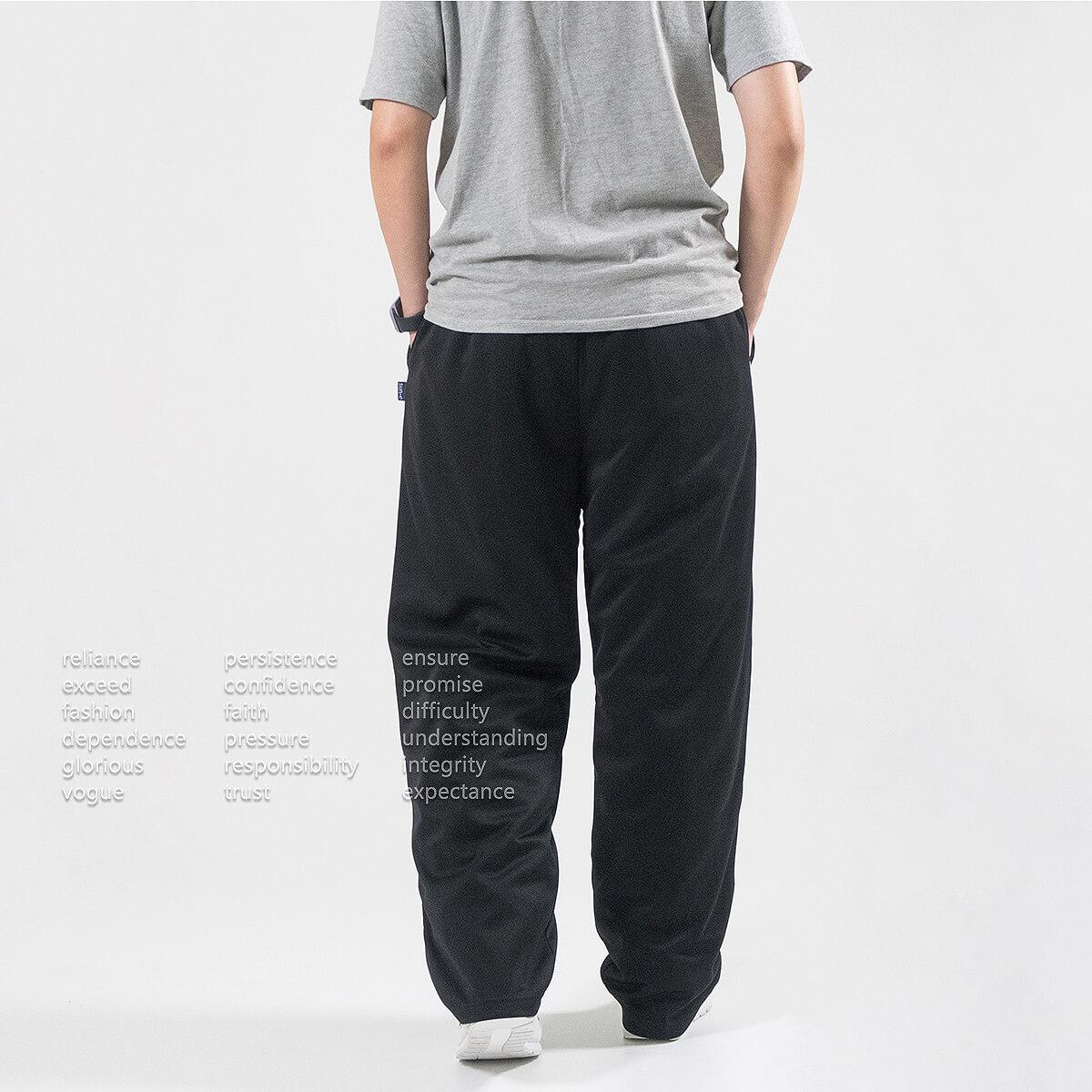加大尺碼防潑水長褲 保暖台灣製長褲 防風休閒長褲 褲管無縮口彈性長褲 大尺碼男裝 全腰圍鬆緊帶休閒褲 黑色長褲 Made In Taiwan Big And Tall Water Repellent Pants Casual Pants (310-2056-08)深藍色、(310-2056-21)黑色、(310-2056-22)深灰色 4L 5L (腰圍:97~119公分  /  38~47英吋) 男女可穿 [實體店面保障] sun-e 7