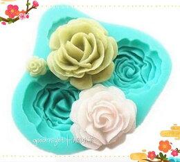手工皂工具 肥皂 模型矽膠皂模巧克力 玫瑰