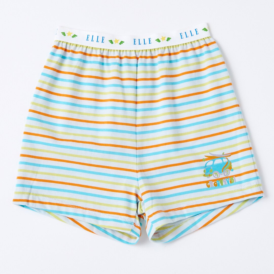ELLE男童條紋平口褲 《 超值四件包 1000元》【中揚精品】E20184