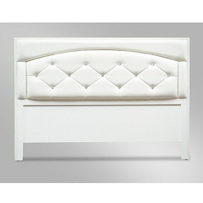 約瑟芬5尺白色雙人床頭片 / H&D東稻家居 / 好窩生活節 - 限時優惠好康折扣