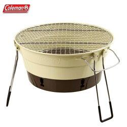 【露營趣】中和安坑 Coleman CM-27318 PACKWAY烤肉爐II/棕 烤肉架 燒烤爐 桌上型烤爐 暖爐 取暖器 BBQ