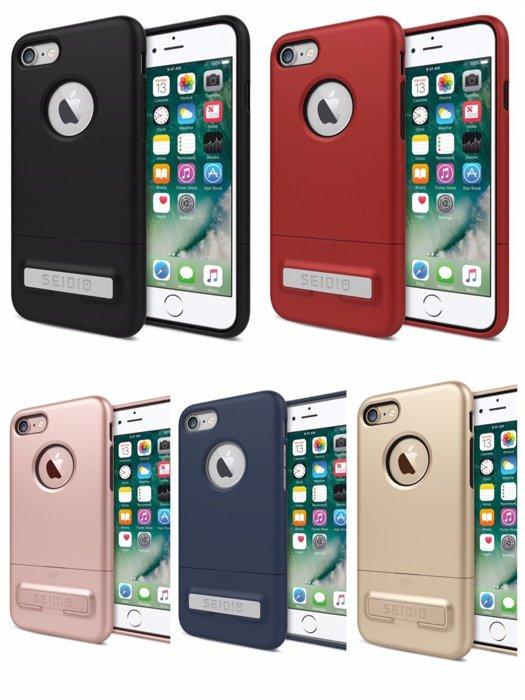 【貝殼】SEIDIO SURFACE™ iPhone 8 / iPhone 7 都會時尚雙色防摔殼 手機殼